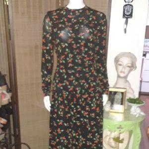 H&M cherry dress